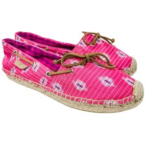 Sperry's Katima Espadrille Shoes 8.5